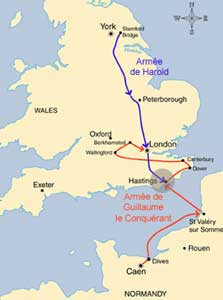 La bataille d'Hastings 14 octobre 1066